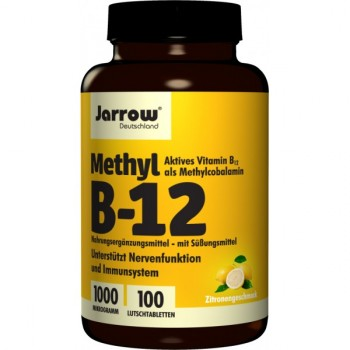 Jarrow Methyl B12  100 Lutschtabletten