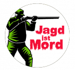 Button - Jagd ist Mord