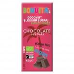 Bio Schokolade Dark mit Kokosblütenzucker gesüßt 45g