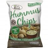 Hummus Chips Creamy Dill 135g