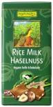 Rice Milk vegane helle Bio Schokolade mit Haselnüssen 100g
