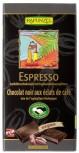 Zartbitter Bio Schokolade mit Espresso-Splittern 100g