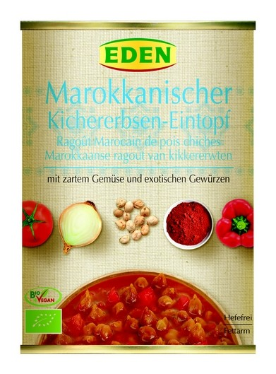 Eden Bio Marokkanischer Kichererbsen-Eintopf 560g