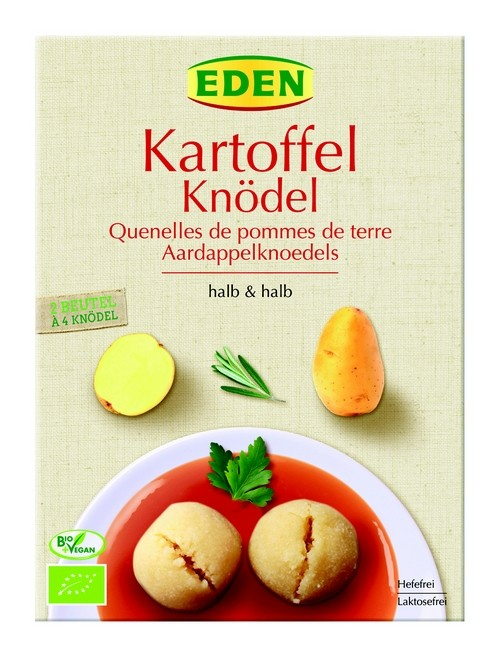 Bio Kartoffelknödel, halb und halb 230g