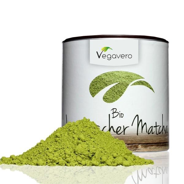 Vegavero Bio Japanischer Matcha Tee 100g