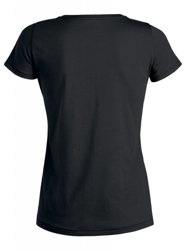 "Tailliertes Shirt V-Neck ""Vegan - Tiere"""