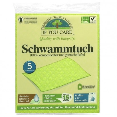 If You Care - Schwammtuch 5 Stk.