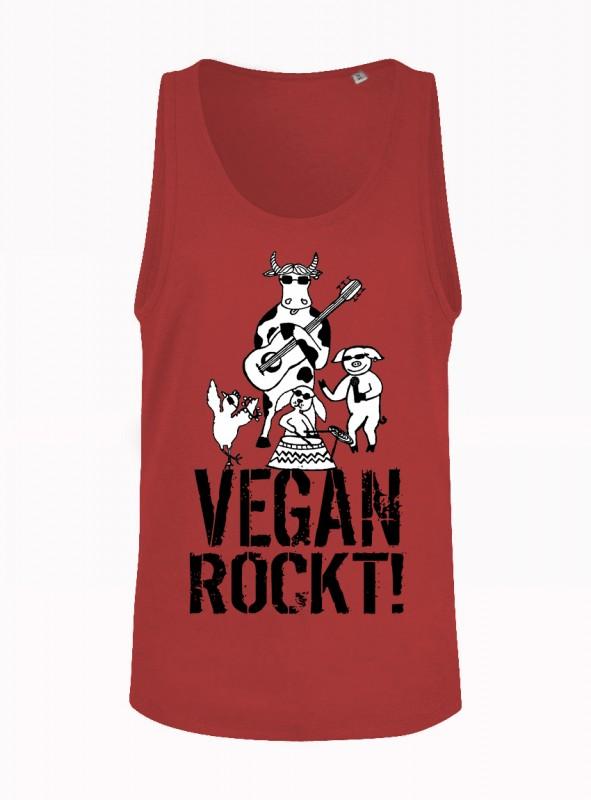 """Tanktop """"Vegan rockt!"""""""