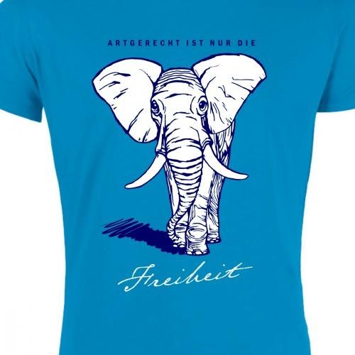"""T-Shirt """"Artgerecht ist nur die Freiheit"""""""