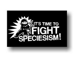 Aufnäher: It's Time to Fight Speciesism