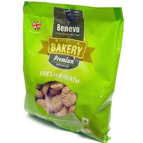Benevo Dog Biscuit - Fresh Breath 250g
