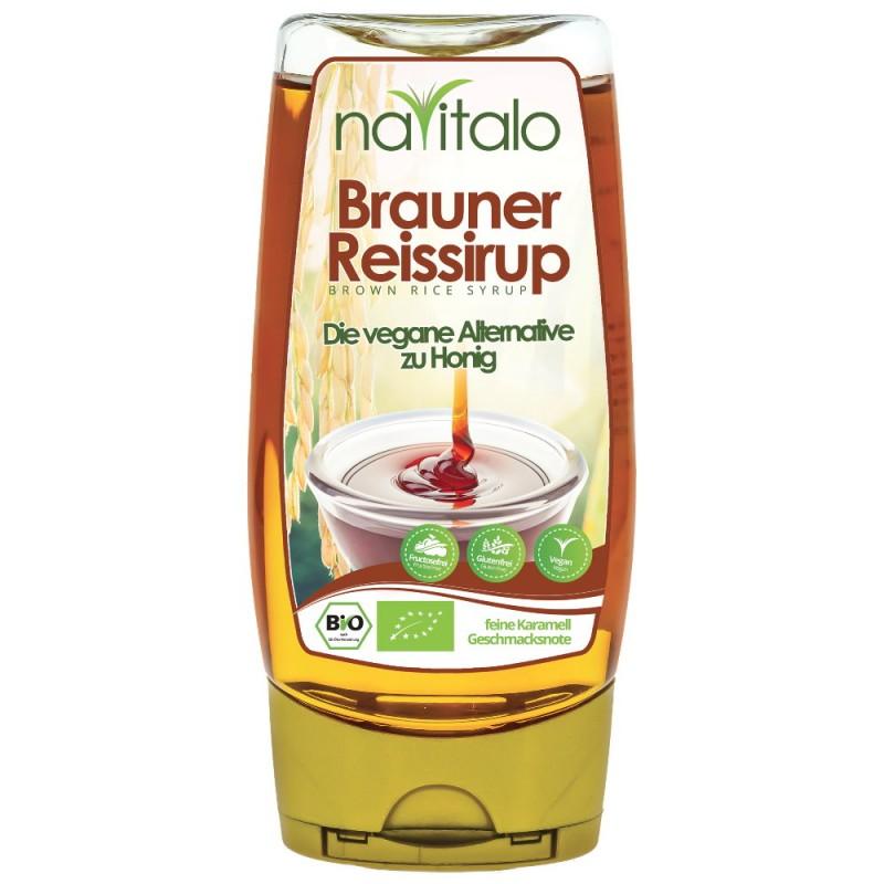 Bio Brauner Reissirup - fructosefrei 350g