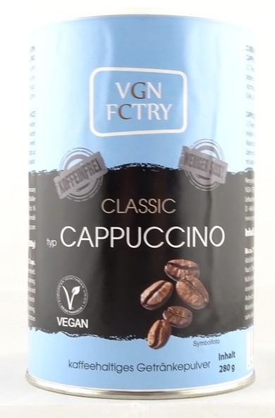 Instant Cappuccino Classic - weniger süß & koffeinfrei 280g