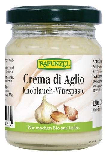 Bio Crema di Aglio, Knoblauch-Würzpaste 120g