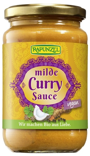 Bio Curry-Sauce mild 350ml