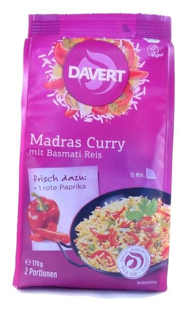 Bio Madras Curry mit Basmati Reis 170g