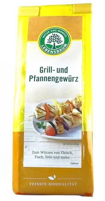 Bio Grill- und Pfannengewürz 50g