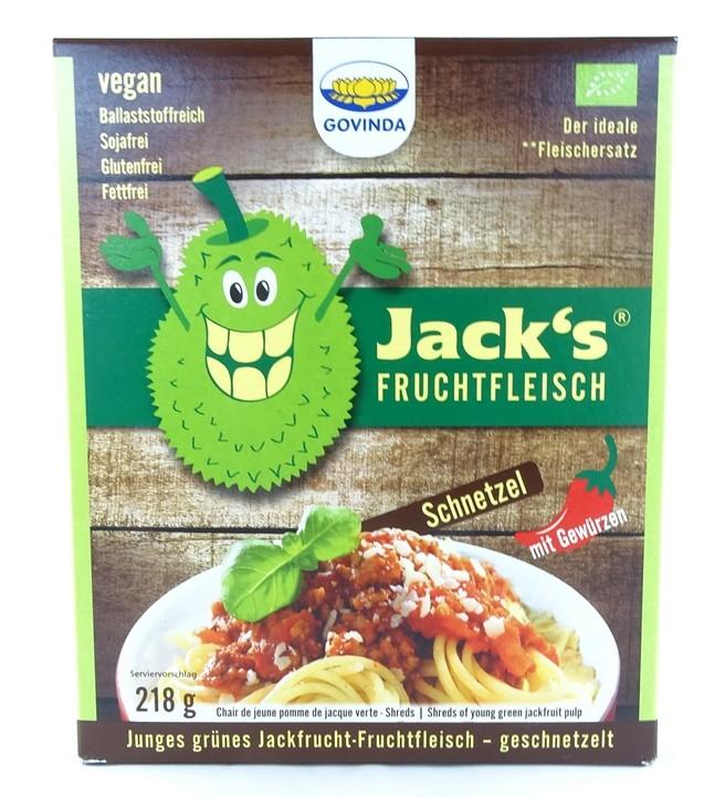 Bio Jackfrucht-Fruchtfleisch Schnetzel 218g