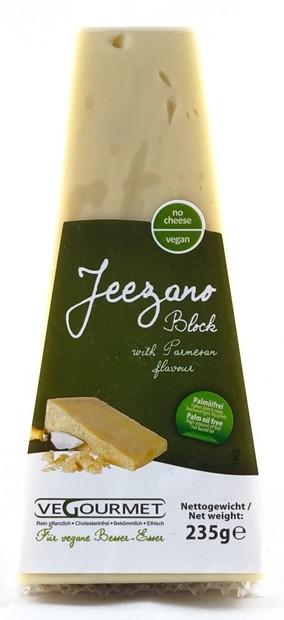 Vegourmet Jeezano Block - Parmesan Alternative 235g