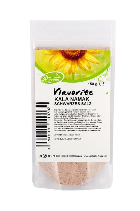 KALA NAMAK schwarzes Salz 150g