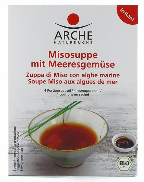 Arche Bio Misosuppe mit Meeresgemüse 60g