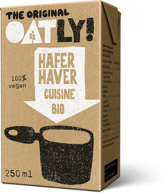 Oatly Hafer Cuisine Bio 250ml z.Zt. ausverkauft
