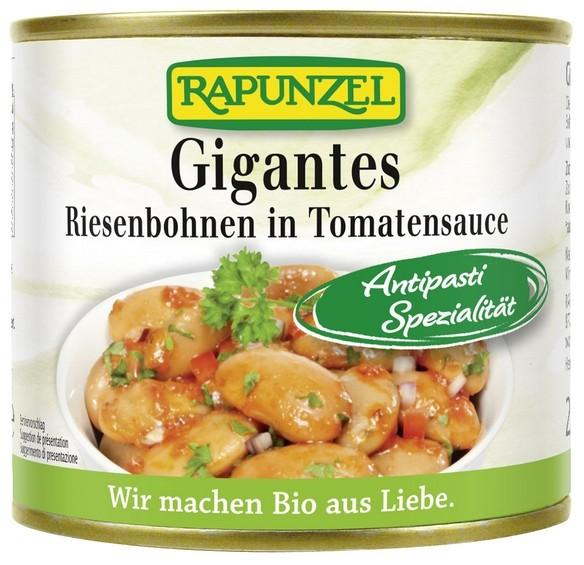Bio Gigantes Riesenbohnen in Tomatensauce 230g