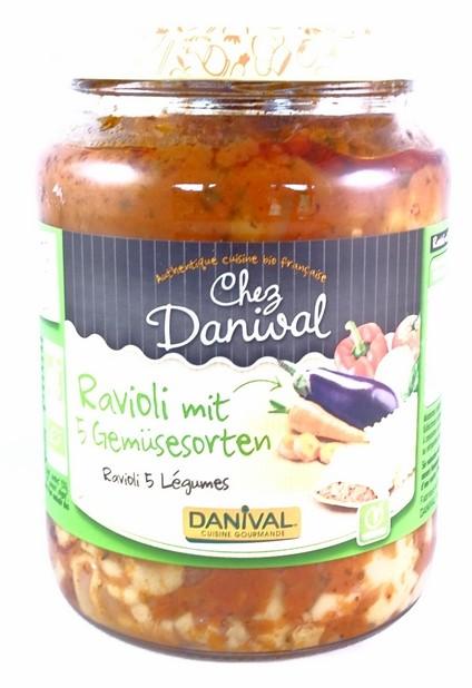 Danival Bio Ravioli mit Gemüse 670g