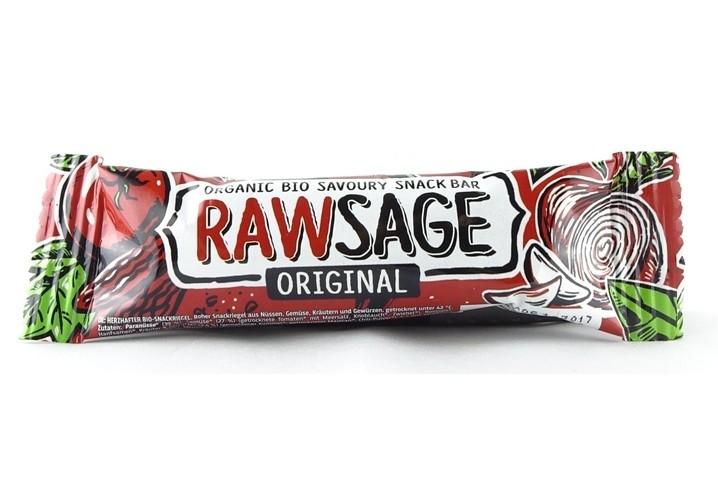 Rawsage - Herzhafter Rohkost Snackriegel 25g