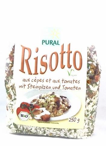 Bio Risotto mit Steinpilzen und Tomaten 250g