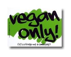 Magnet - Vegan Only