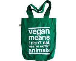 Tasche - Vegan means...