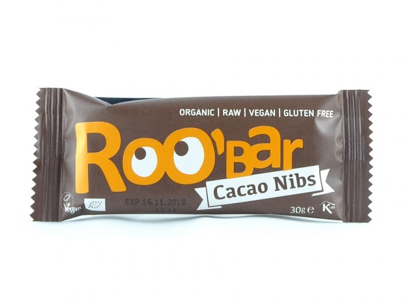 Roobar Cacao Nibs 30g