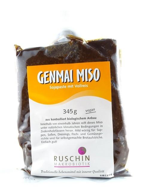 Bio Genmai Miso 345g z.Zt. ausverkauft