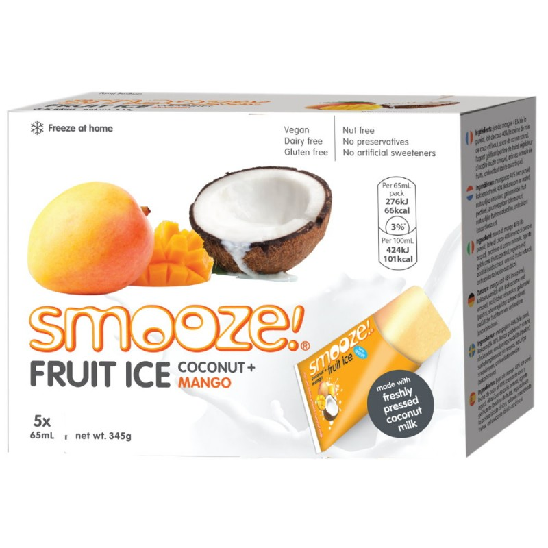 Smooze Eis Kokos-Mango 325ml