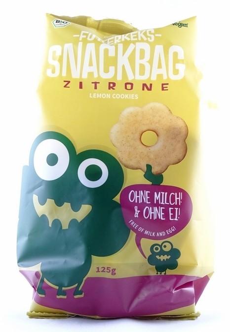 Bio Futterkeks Snackbag Zitrone 125g