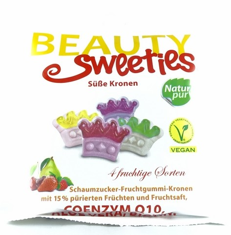 Beauty Sweeties Süße Kronen 125g