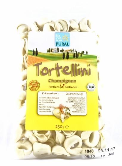 Bio Tortellini mit Champignonfüllung 250g