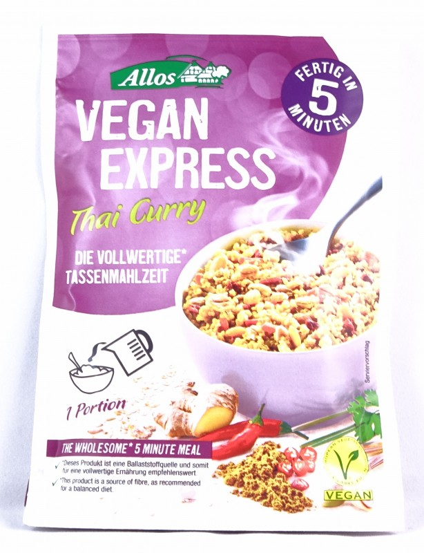 Vegan Express Bio Thai Curry 65g