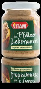 Vitam wie grobe Pfälzer Leberwurst Bio Aufstrich 100g