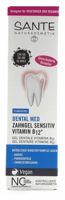 Sante Zahngel Sensitiv Vitamin B12 ohne Fluorid 75ml