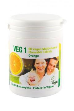VEG 1 Vitaminsupplement Orange 90 Tabletten