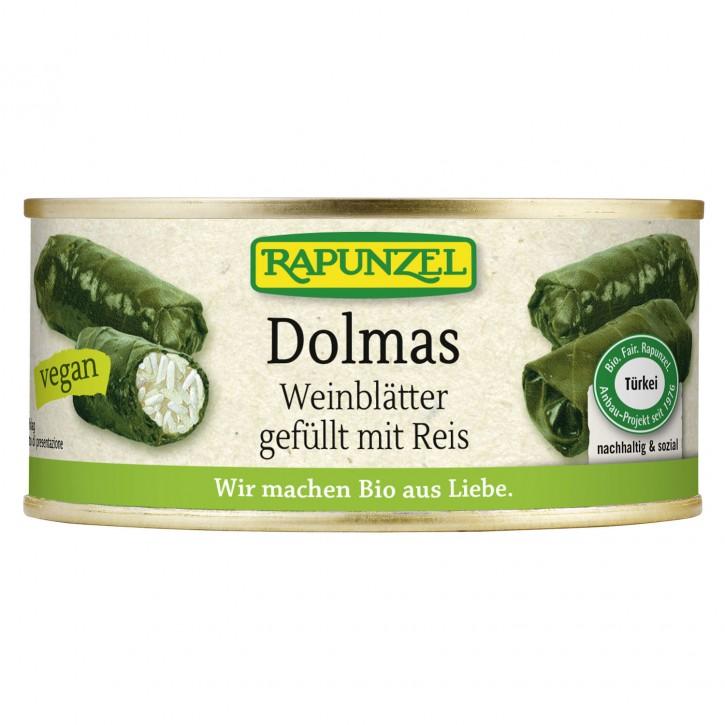 Rapunzel DOLMAS Weinblätter gefüllt mit Reis, BIO, 280g