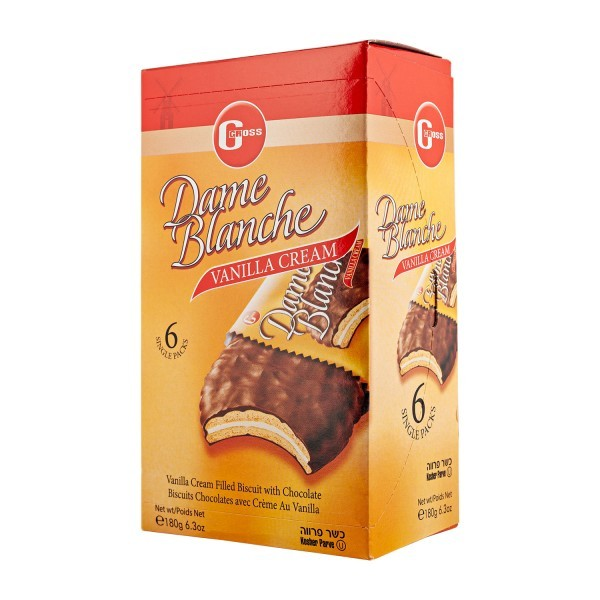 DAME BLANCHE Kekse Vanille, 180g