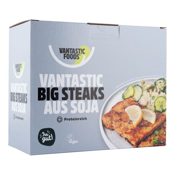 Soja Big Steaks, 500g