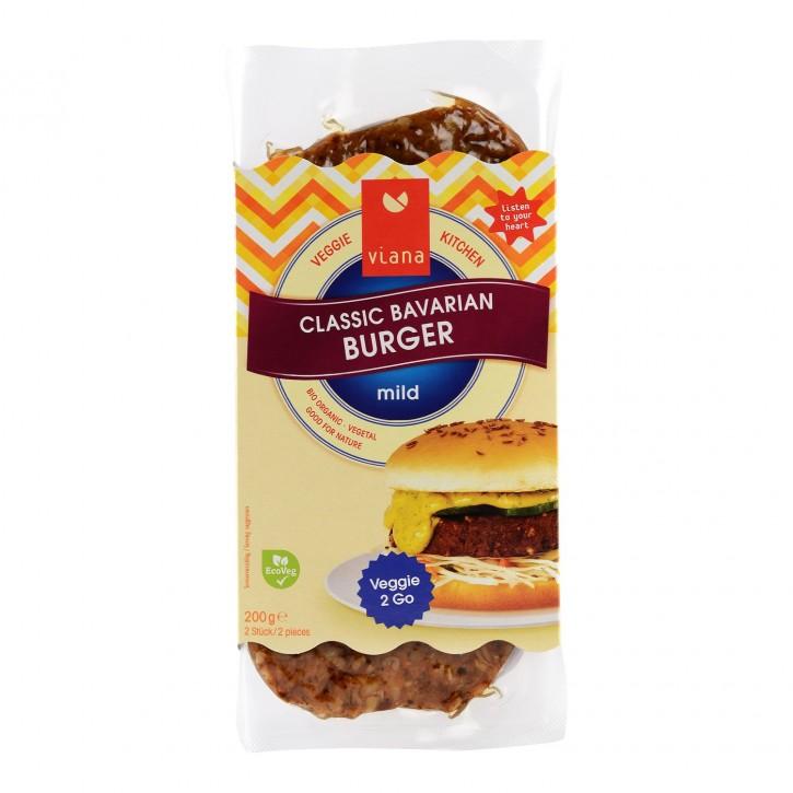 Viana CLASSIC BAVARIAN Burger, BIO, 200g