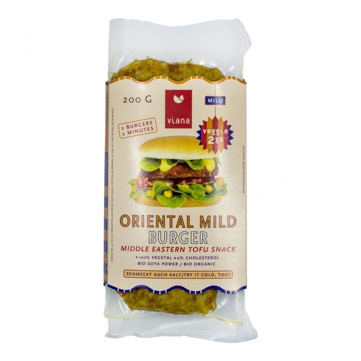 Viana ORIENTAL MILD Burger, BIO, 200g