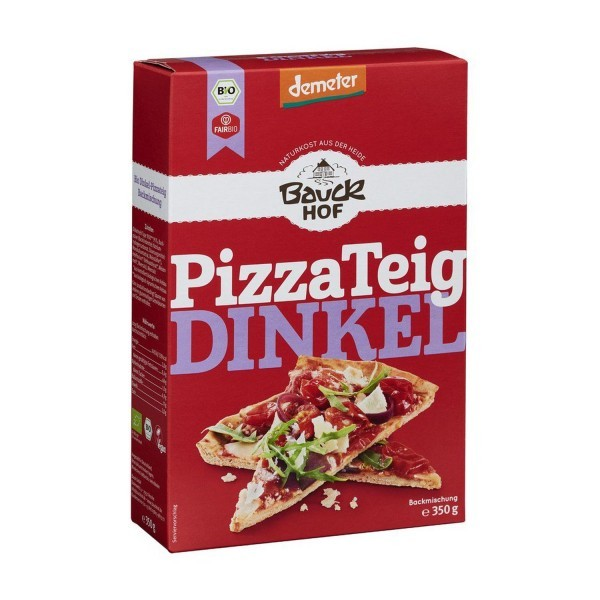 Bauckhof PIZZA-TEIG Dinkel, BIO, 350g