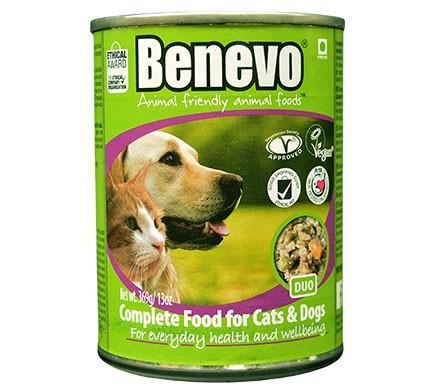 Benevo DUO Hunde- und Katzennahrung, 369g