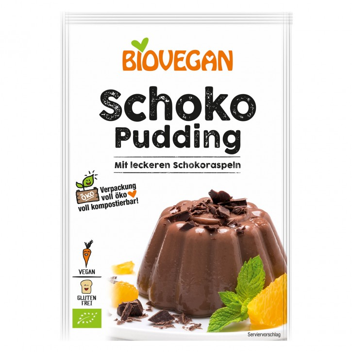 Biovegan PARADIES PUDDING Schoko, 50g